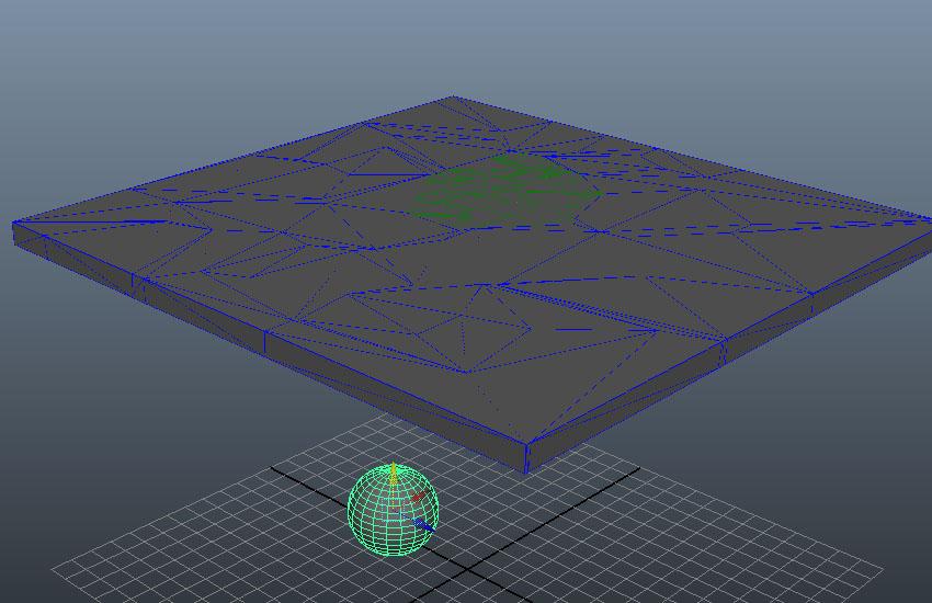Create a spherical ball