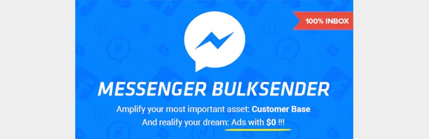 Facebook Messenger Bulksende