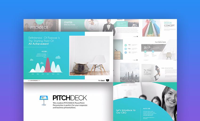 Pitch Deck Keynote Templates