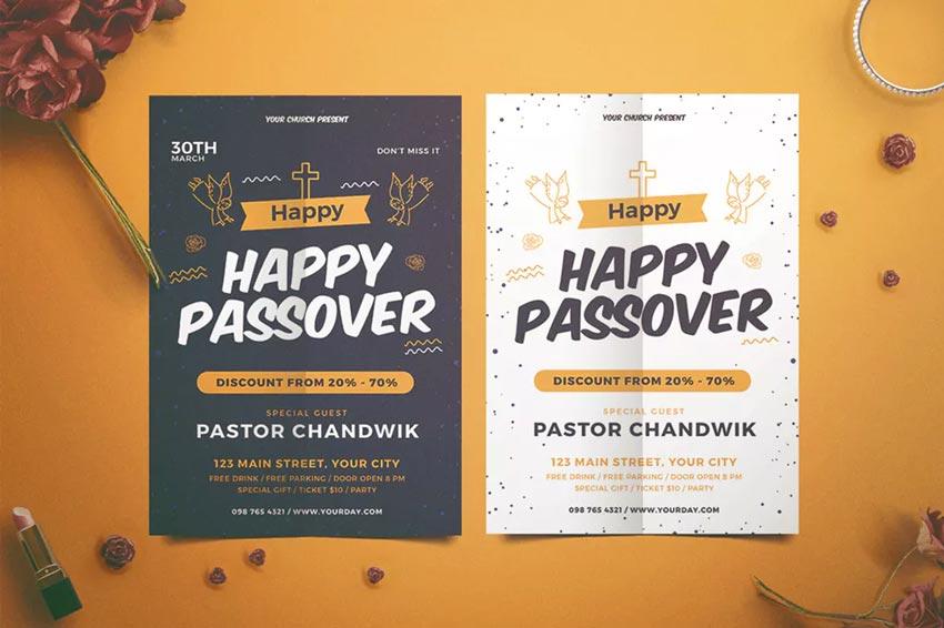 Happy Passover Flyer