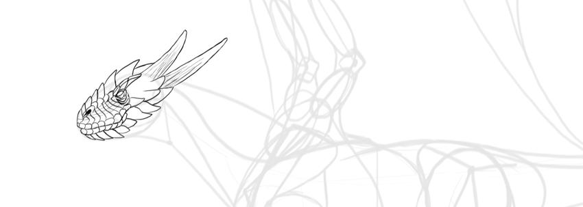 dragon scales mesh