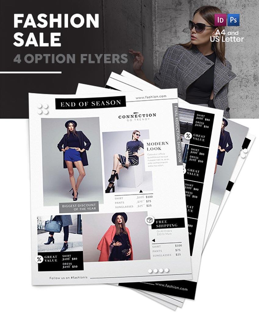 Fashion Shop Sale Flyers