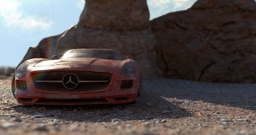 Dirty Mercedes