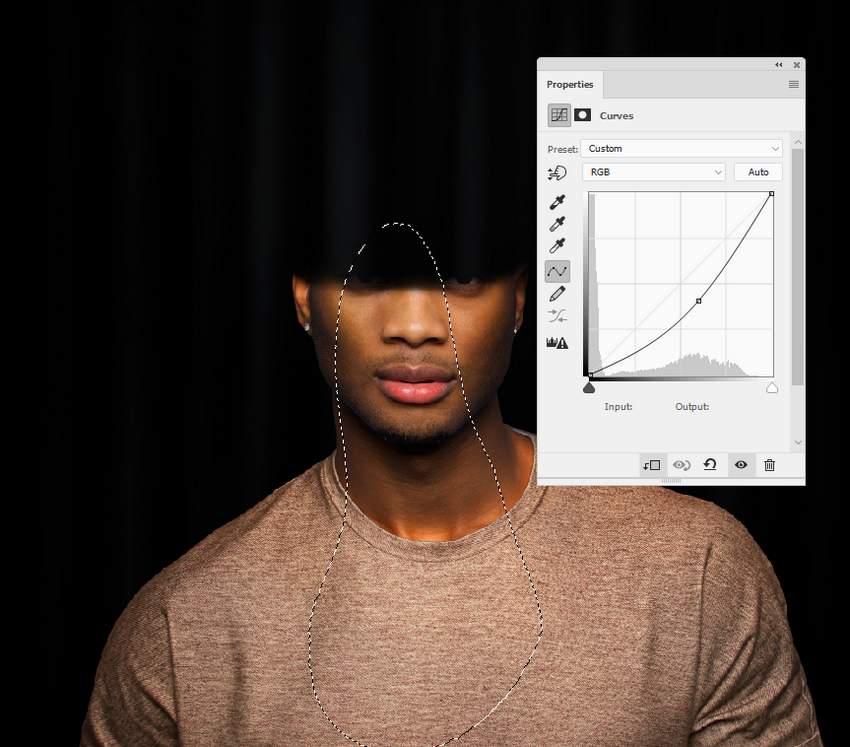 photo effect - model curves 1