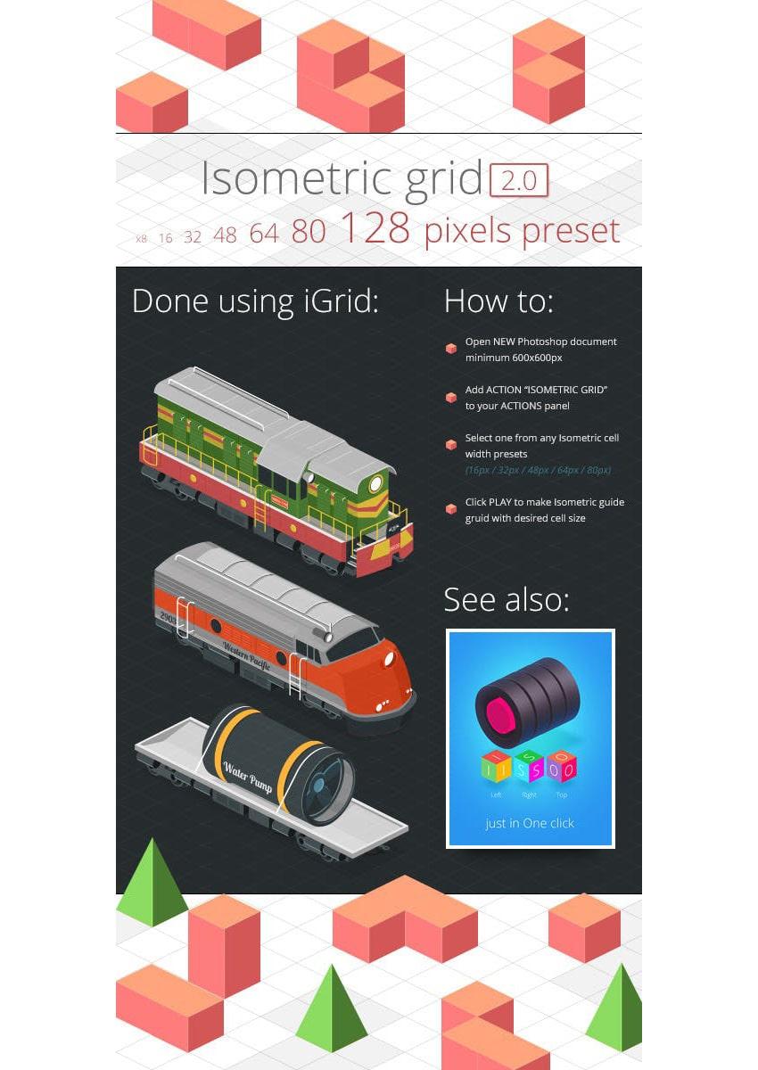 Isometry Grid 20
