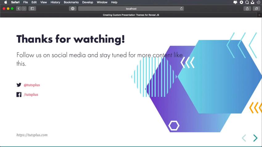 Creating Custom Presentation Themes for Revealjs