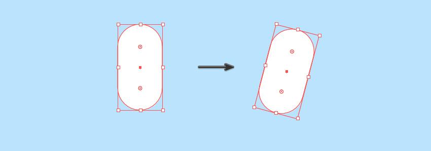 Rotate white capsule