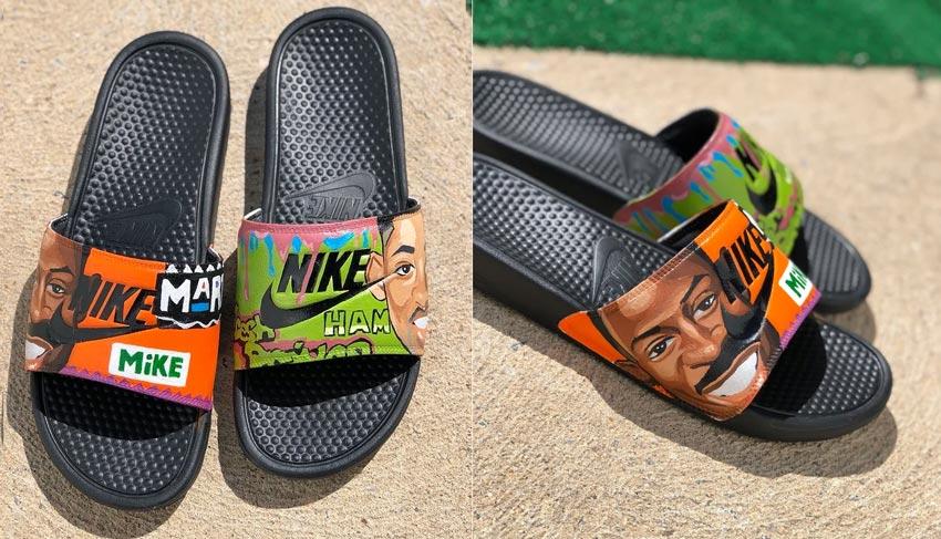 Custom Painted Slides