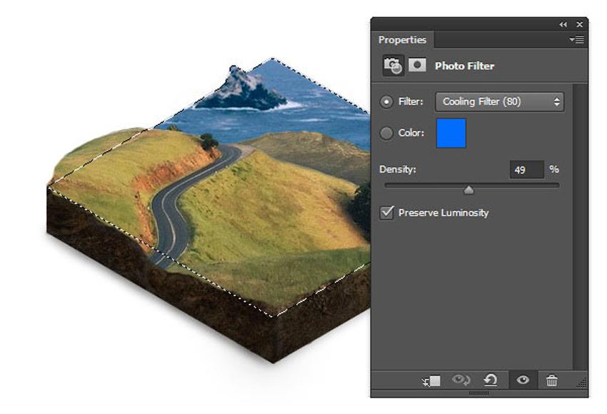 Adding Photo Filter