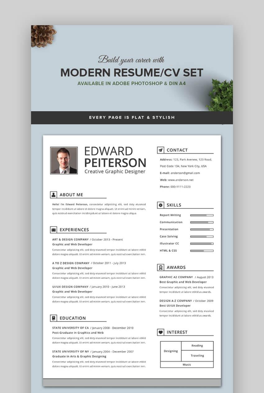 Modern Resume - Creative Resume Template